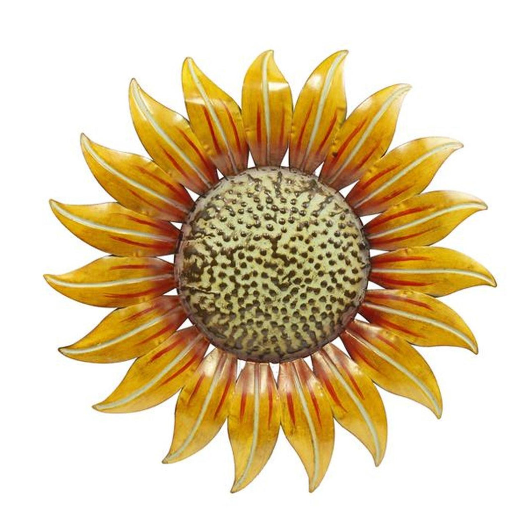 "14"" Tin Sunflower"