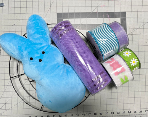Fb and YouTube blue bunny kit