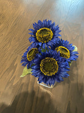 "Load image into Gallery viewer, 11"" SUNFLOWER BUSH x 4"