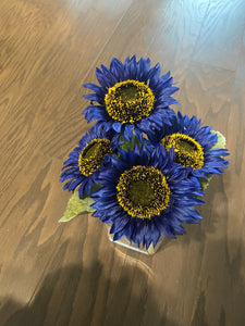 "11"" SUNFLOWER BUSH x 4"