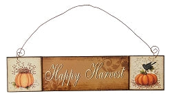 Wood Happy Harvest Sign