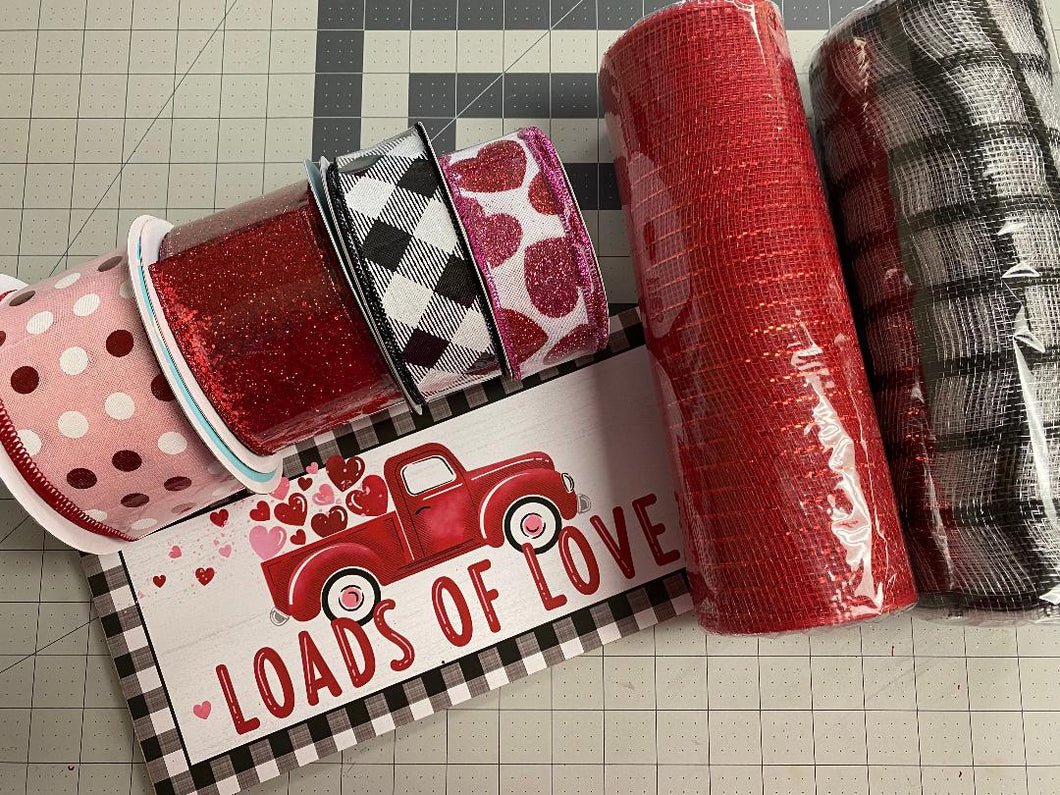 YOUTUBE AND FB LIVE VALENTINES KIT- Loads of Love