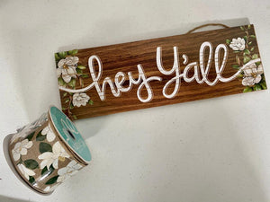 Magnolia Ribbon and Sign Kit
