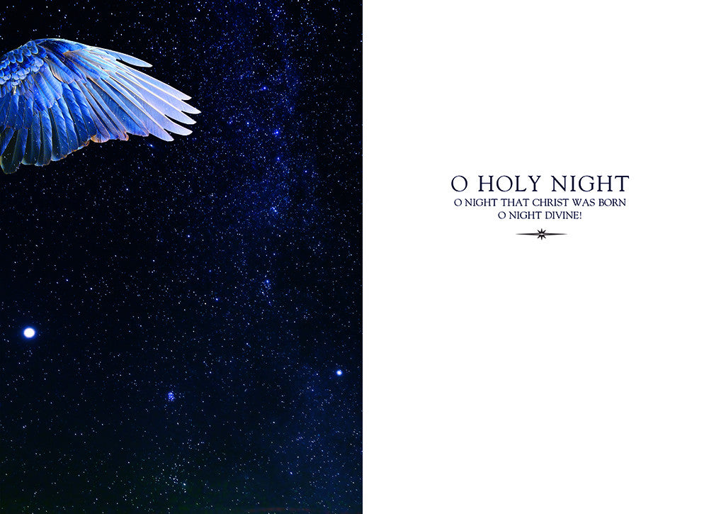 O HOLY NIGHT  [Christmas Card]  package of five