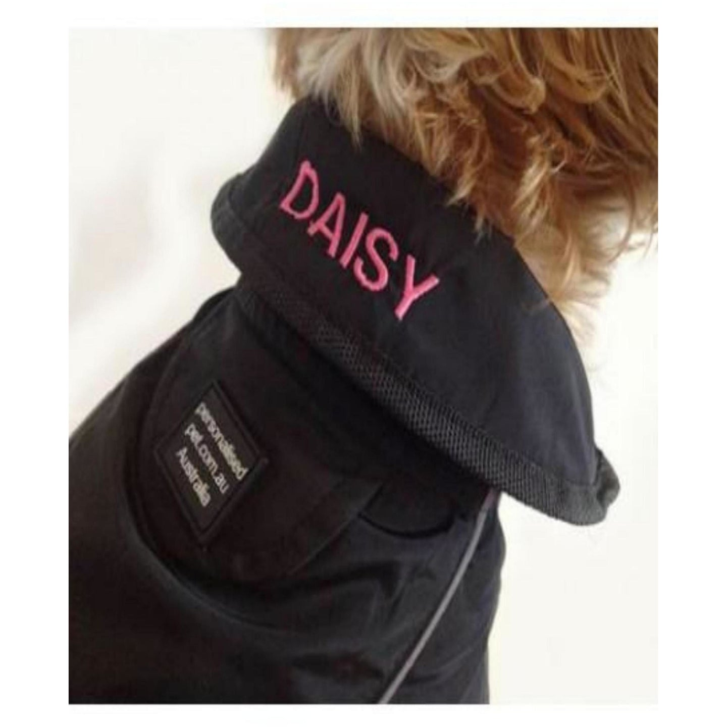 DOG COAT 35CM - Embroidered