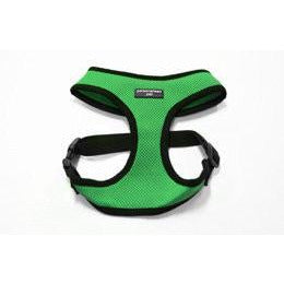Pet Harness Embroidered - Green