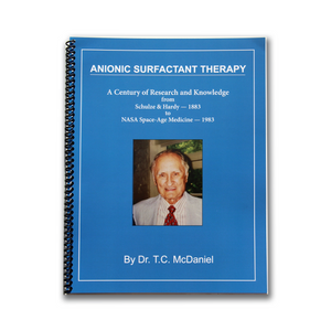 """ANIONIC SURFACTANT THERAPY"" BOOK"