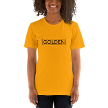 Load image into Gallery viewer, Golden Short-Sleeve Unisex T-Shirt
