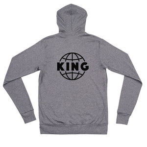 King of the World zip Hoodie