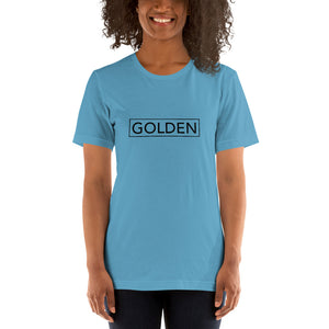Golden Short-Sleeve Unisex T-Shirt