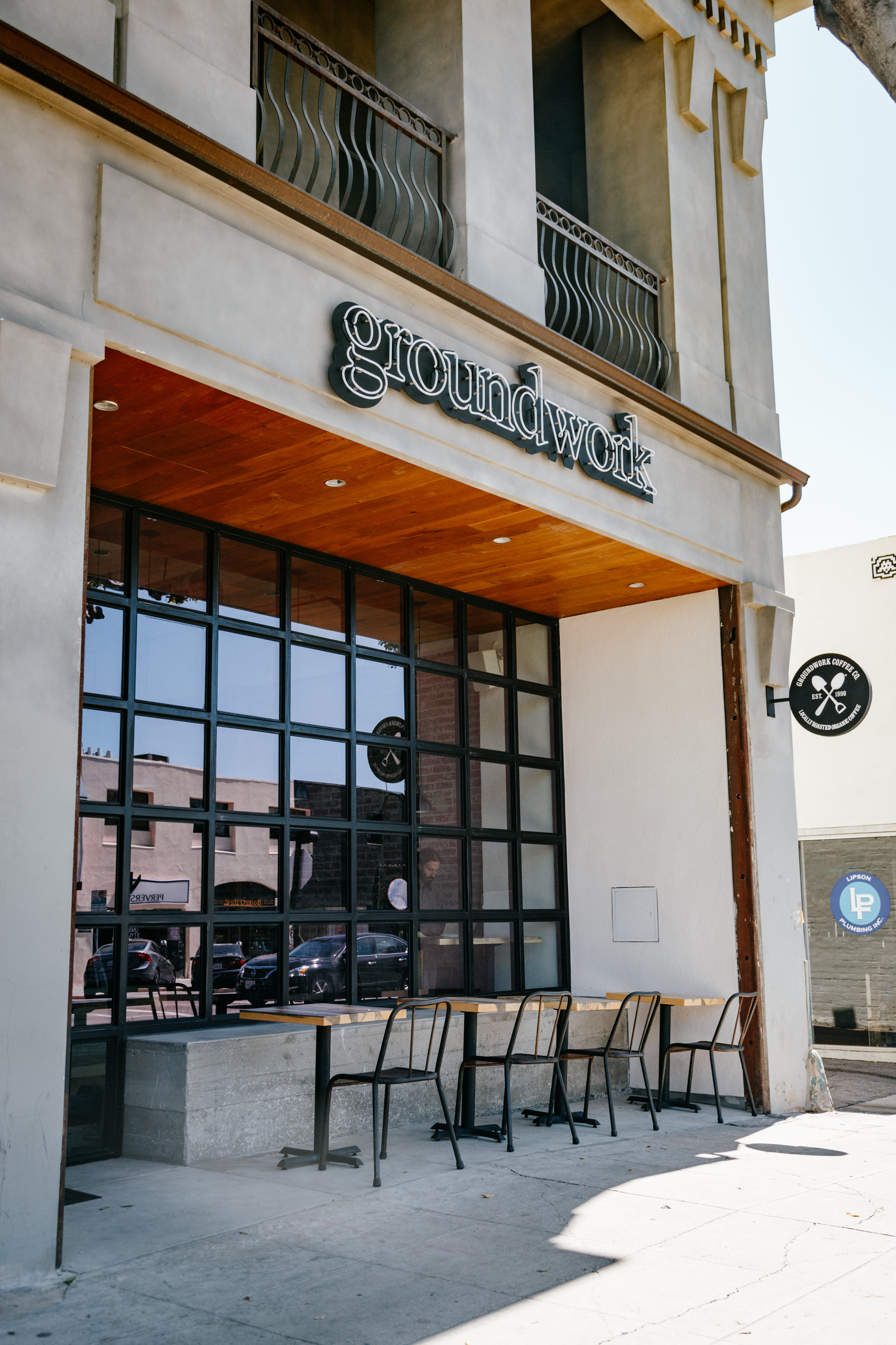 Groundwork Coffee Shop on Larchmont