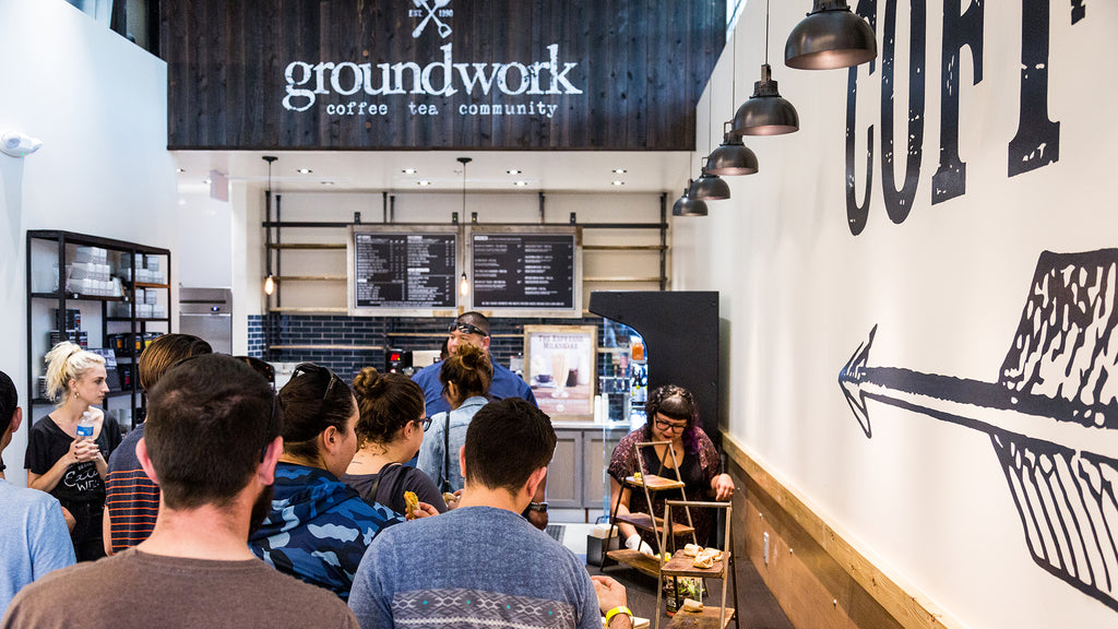 Groundwork Coffee in Whole Foods 365 Long Beach
