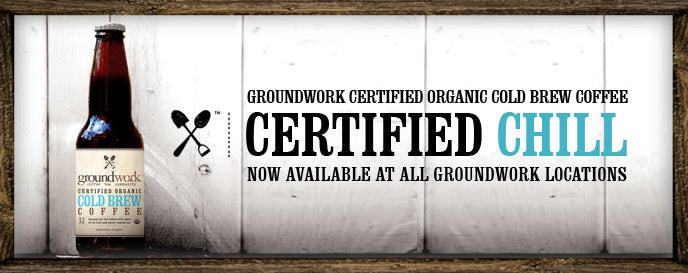 Certified Organic Groundwork Coffee Cold Brew