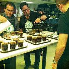 Jeff Chean, Groundwork Coffee, Cupping Juror at Rainforest Allaince