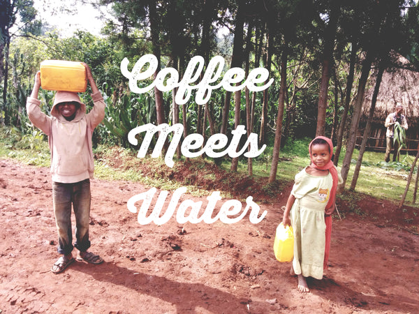 Coffee Meets Water in Ehtiopia providing clean, drinkable water