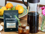 Groundwork Coffee Cold Brew Starter Bundle Kit for Homemade Cold brew