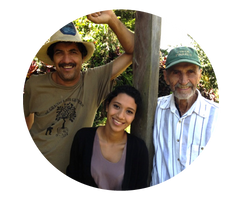 Los Pinos family from Nicaragua Coffee farmers