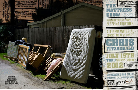 The Mattress Show by Chris Fitzgerald Poster
