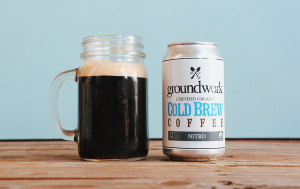 Groundwork Coffee Co.'s Nitro Cold Brew