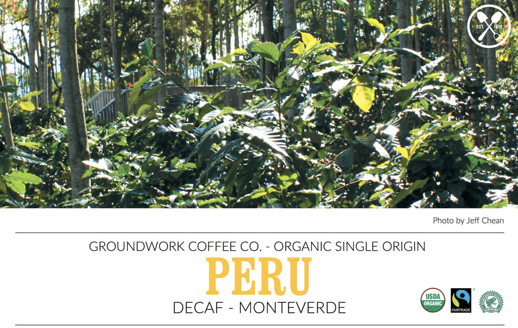 Learn about Groundwork's Decaf Peru Single Origin Offering