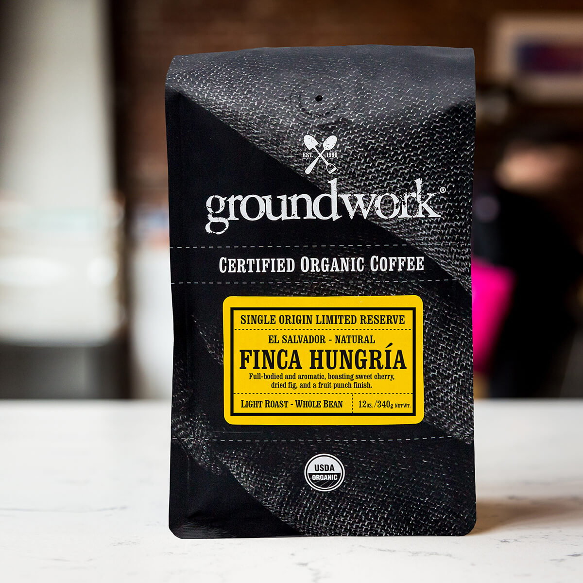Groundwork Ethiopia – Finca Hungría Single Estate coffee