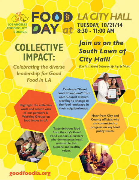 Food Day at LA City Hall Poster