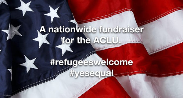 Coming together to support the ACLU