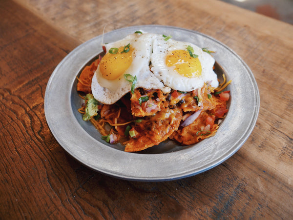 New from the Groundwork Rose Ave. Kitchen: Chilaquiles with organic eggs.