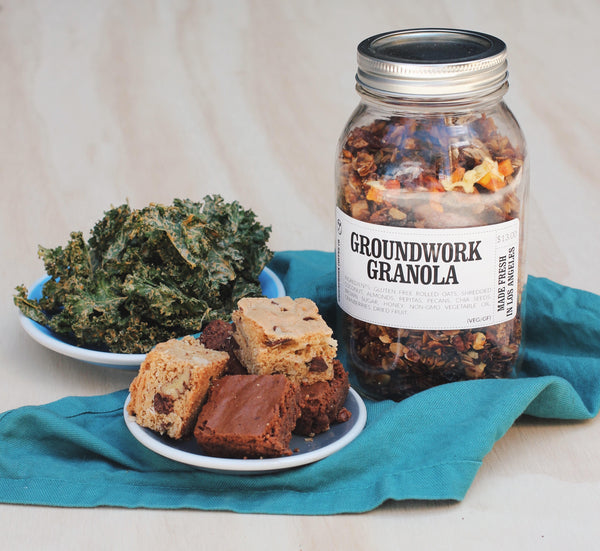 Groundwork Coffee's new packaged foods are coming to our cafes!