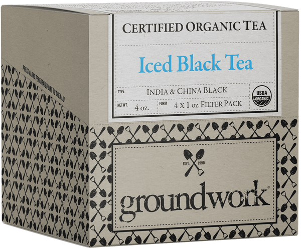 Certified Organic Loose Leaf Iced Black Tea