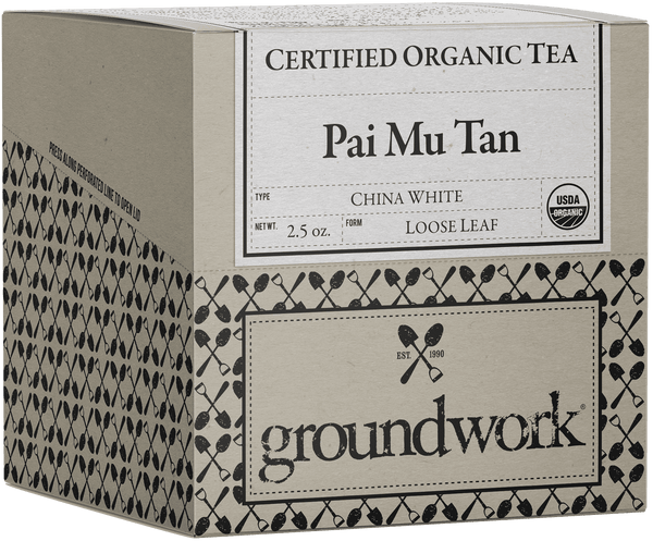 Pai Mu Tan Certified Organic Loose Leaf White Tea