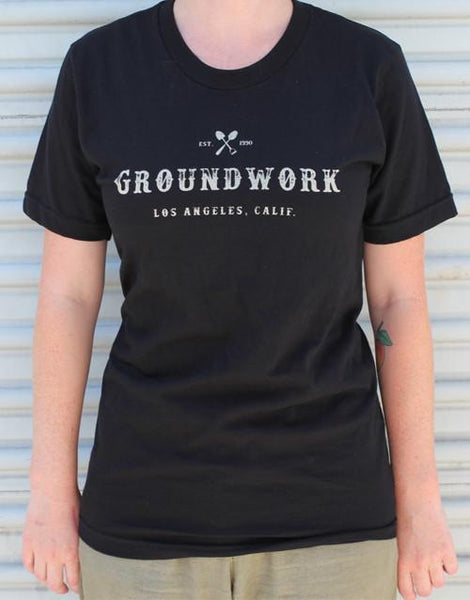 Groundwork Coffee 25th Anniversary Black T-Shirt