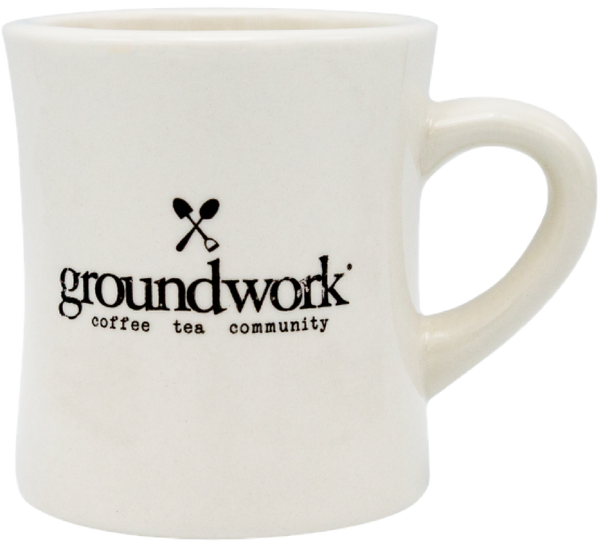 Groundwork Coffee branded Diner Mug