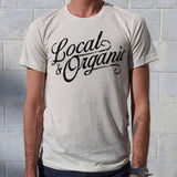 Groundwork Coffee Local & Organic T-Shirt in Oatmeal