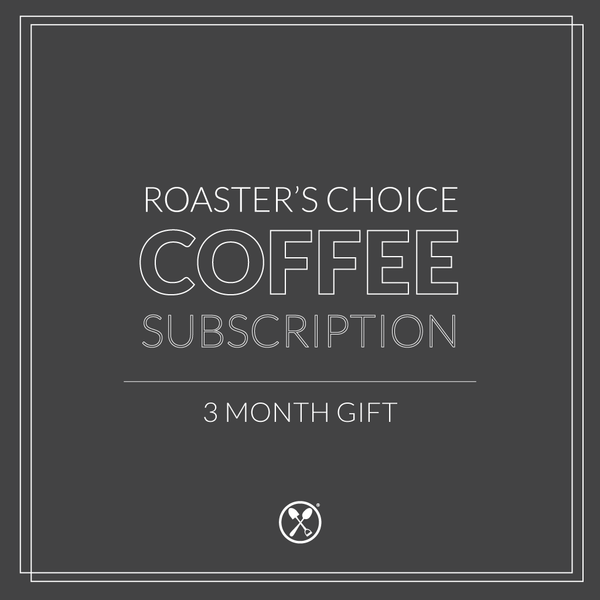 3 Month Gift | Roaster's Choice Curated Coffee Subscription and Two Mugs