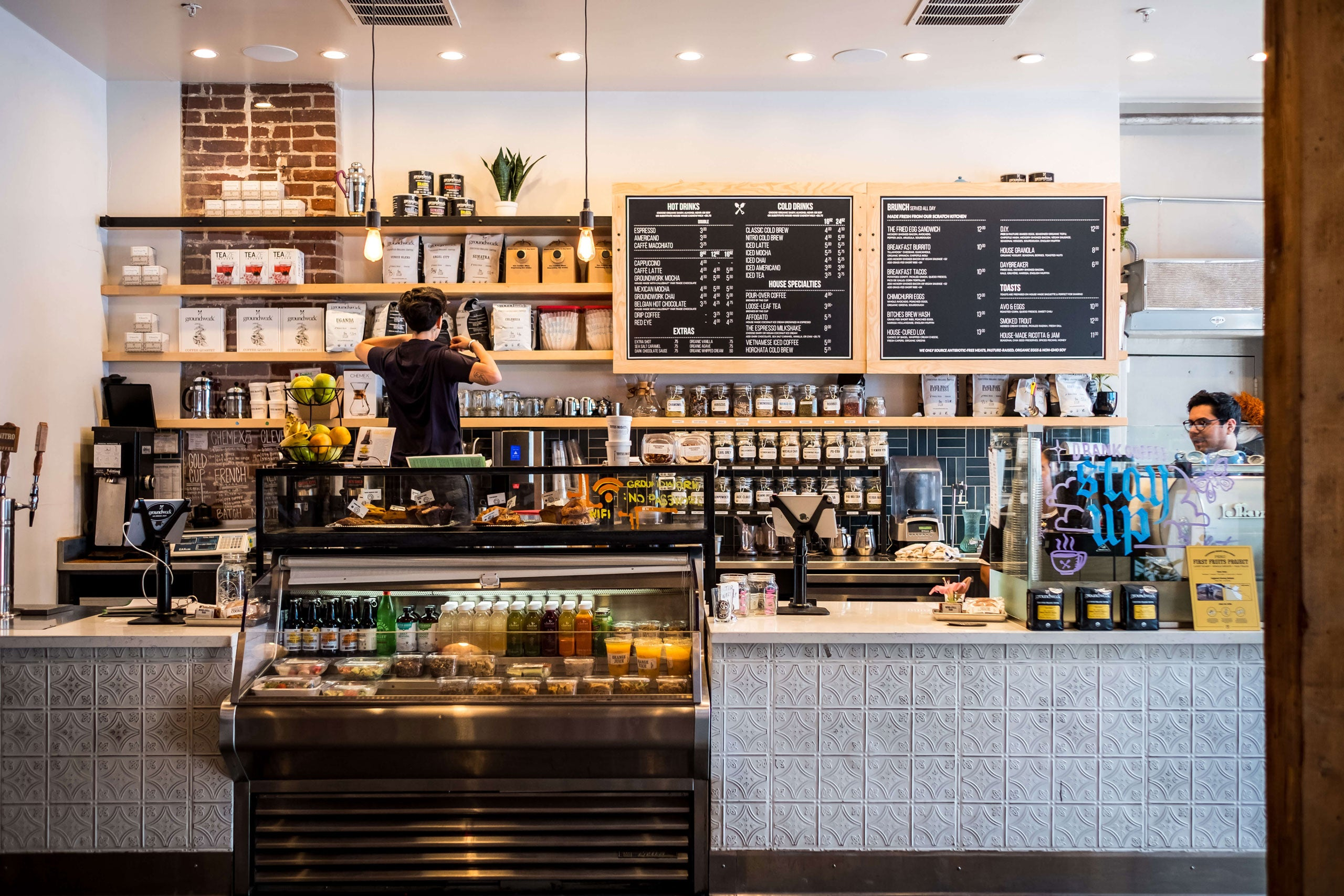 Organic Coffee House in Los Angeles Downtown Arts District - Groundwork Coffee Co