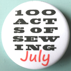 100 Acts of Sewing July Kicks Off - and a catch up with Sonya Philip!