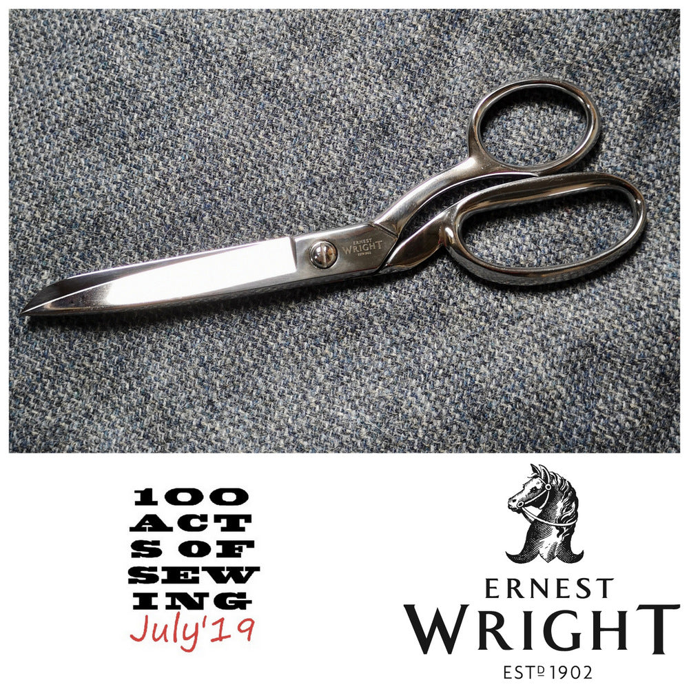 100 Acts of Sewing July Week 3 Sponsor - Ernest Wright Handmade Scissors