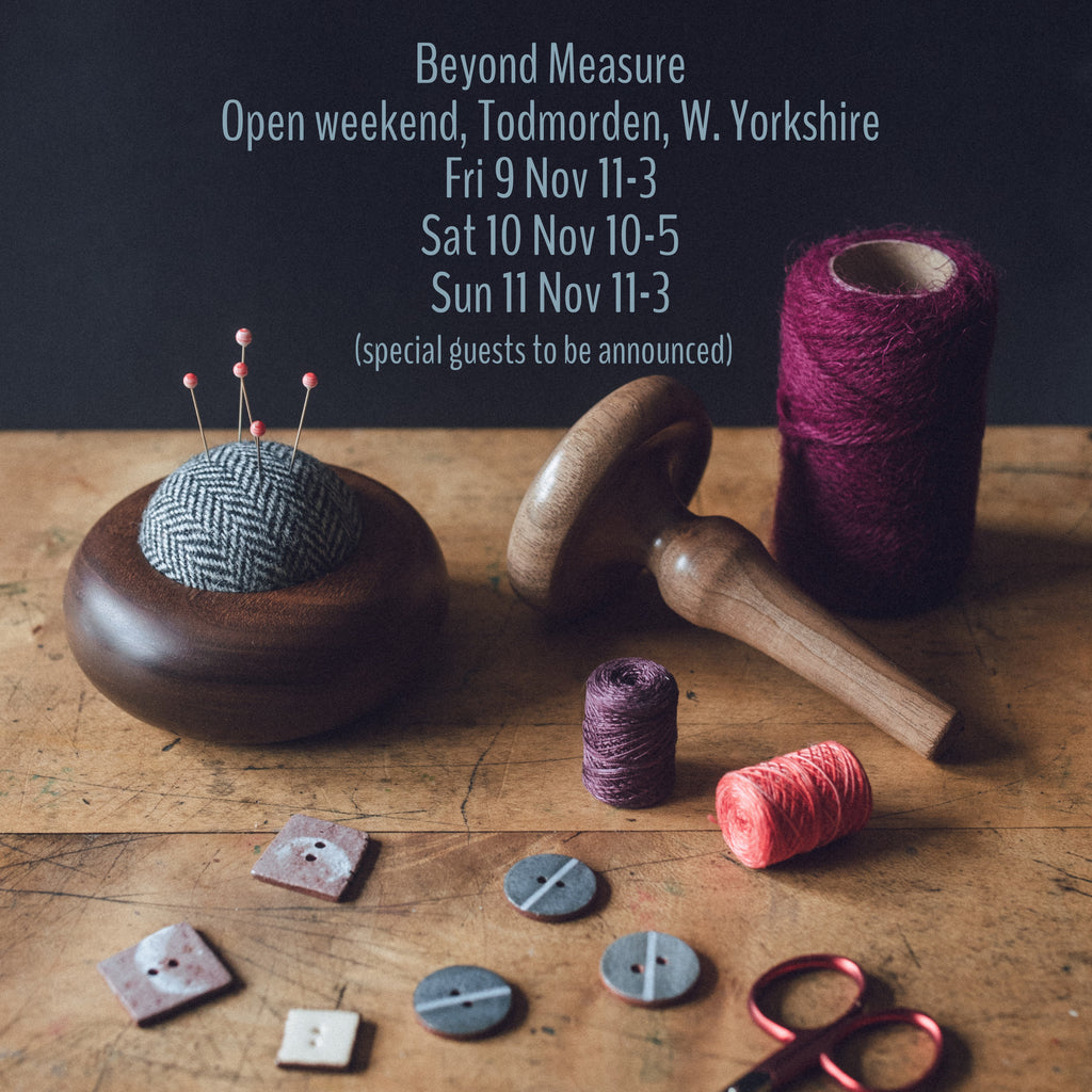The Beyond Measure Open Weekend 2018 - Essential information