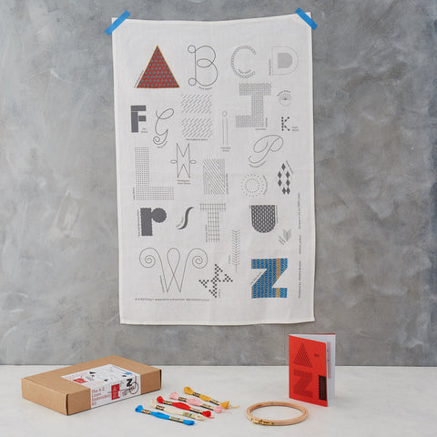 Stitch School A-Z Sampler Kit