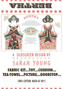 Sarah Young Cut and Sew Character Tea Towel