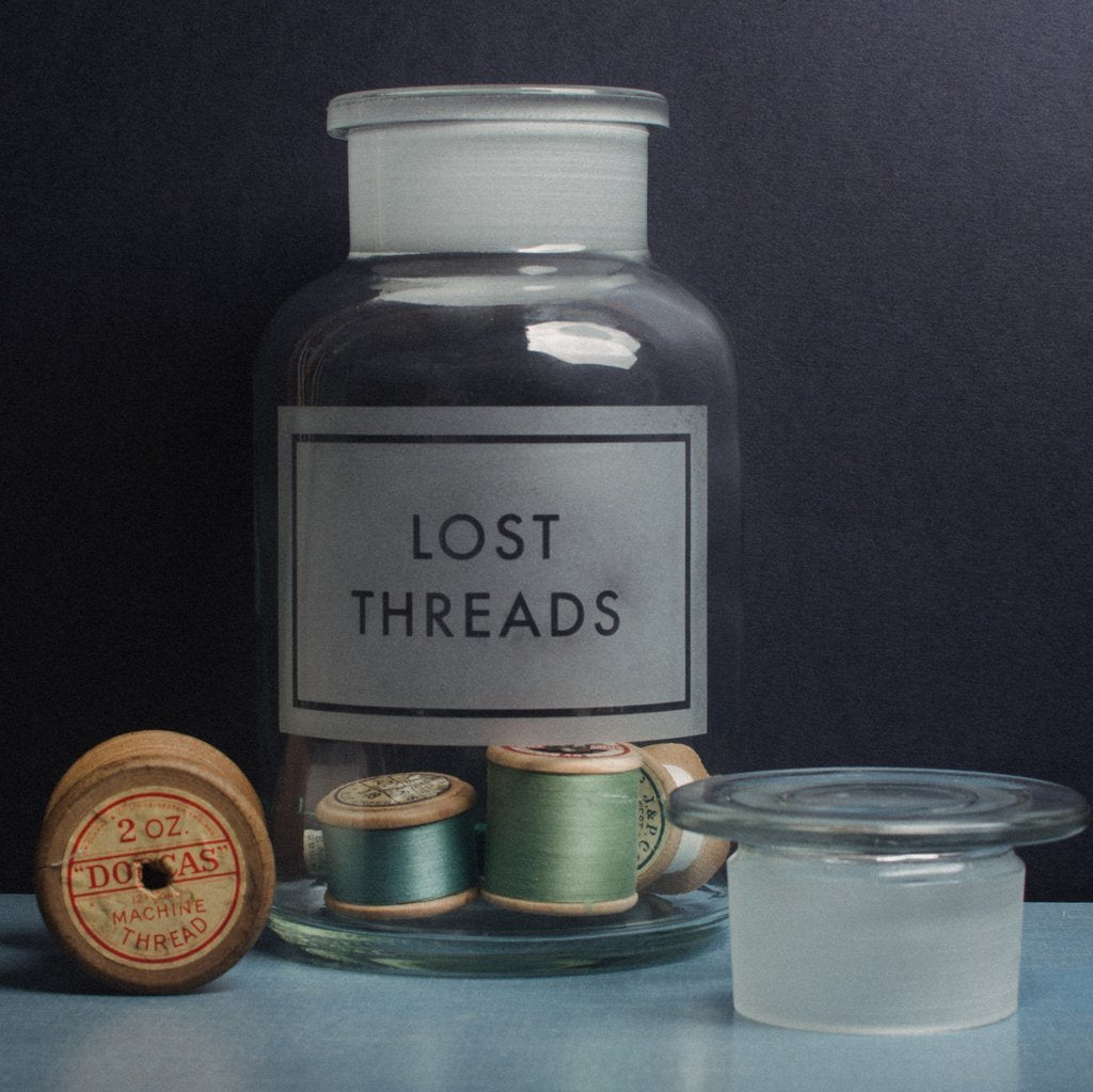 Vinegar & Brown Paper - Lost Threads Jar