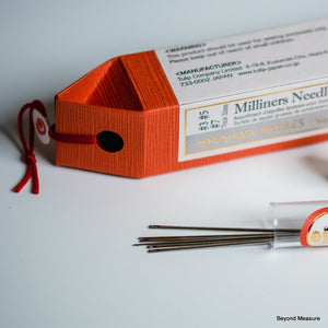 Tulip Hiroshima Milliners' Straw Needles Assorted