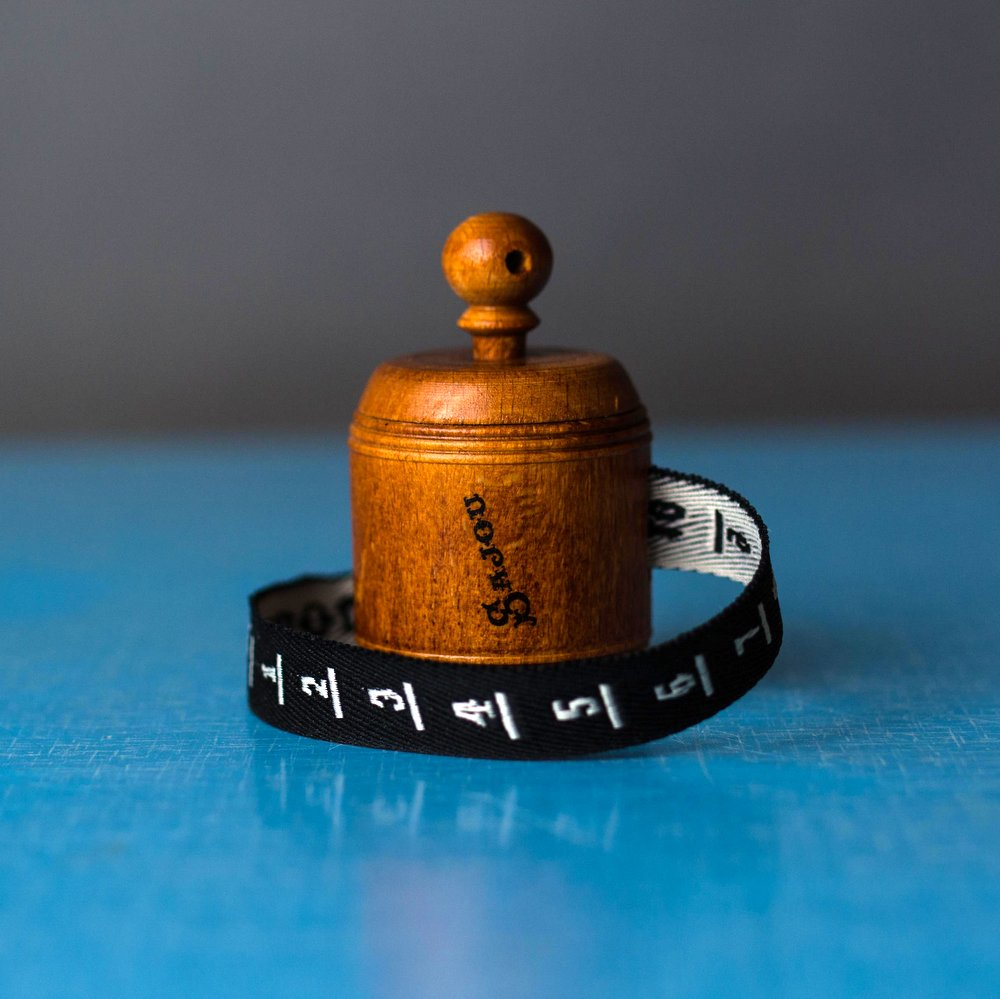 Sajou Wooden Tape Measure