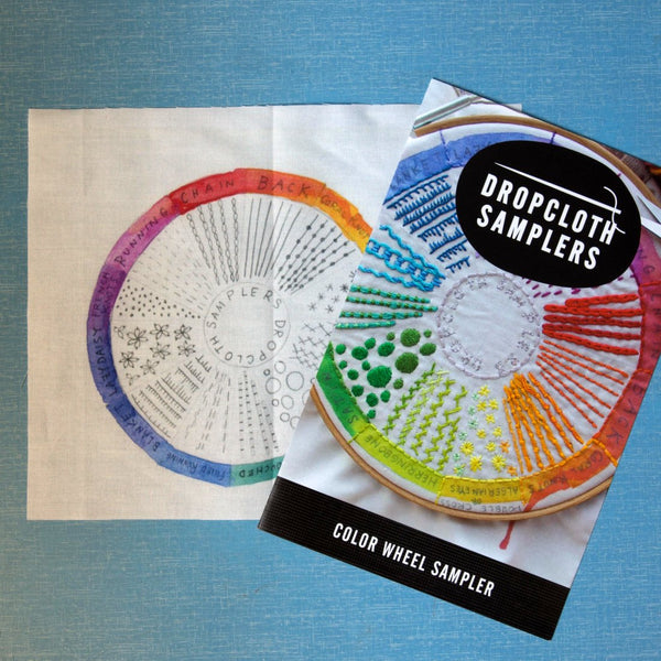 Dropcloth Sampler - Colour Wheel