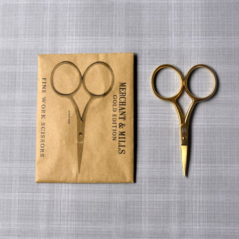 Merchant and Mills Gold Scissors