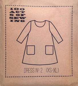 100 Acts of Sewing Patterns - Dress No. 2