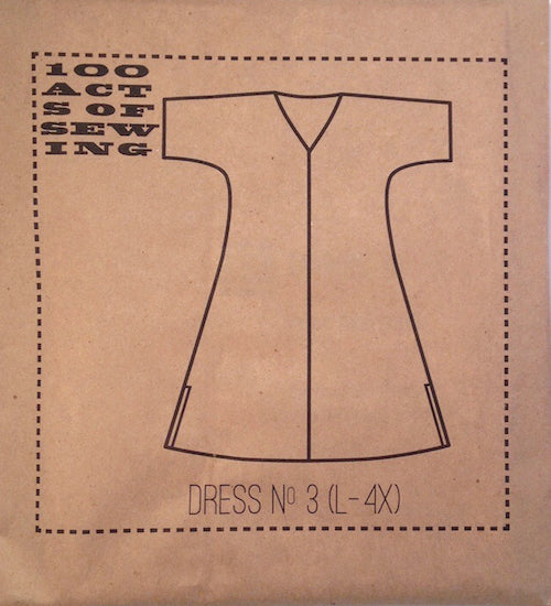100 Acts of Sewing Patterns - Dress No. 3