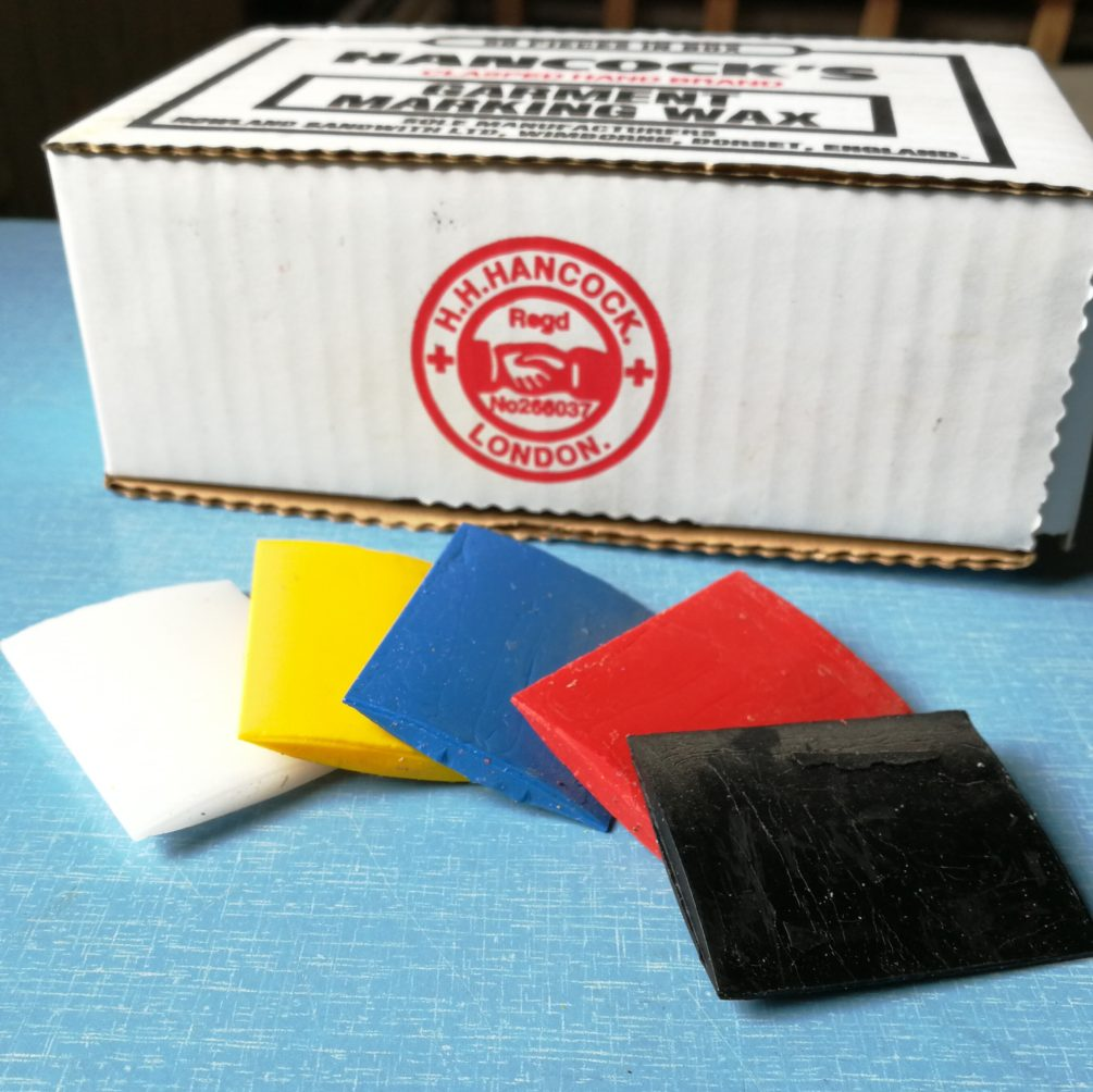 Hancocks Marking Wax Rectangles