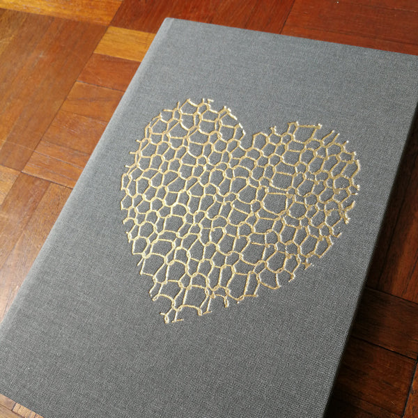 Embossed Notebook by Adelle Hickey - A5